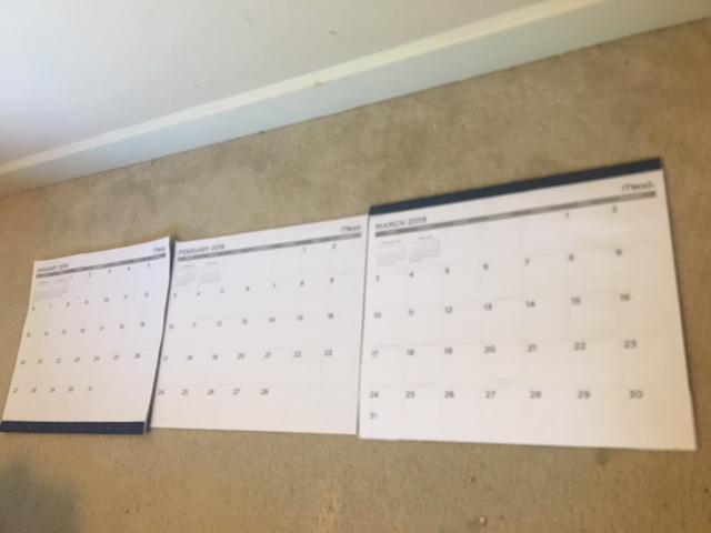 mapped content calendar