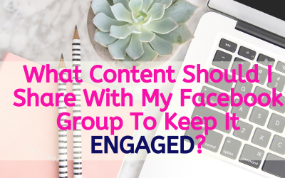 What Content Should I Share With My Facebook Group?